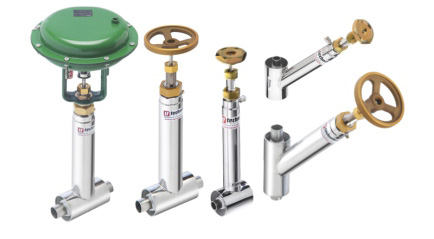 Vacuum Insulated Valves